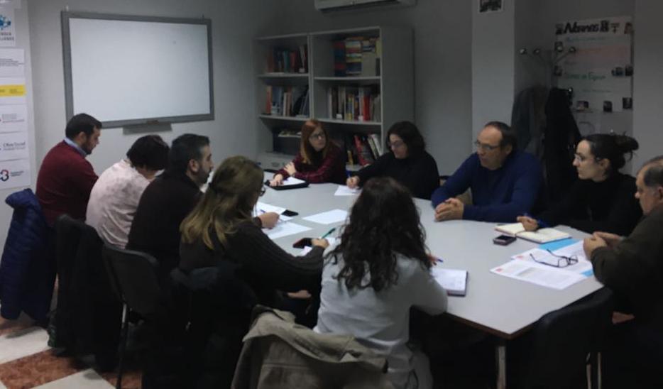 La red provincial de EAPN-A en Córdoba aborda el futuro plan local de inclusión