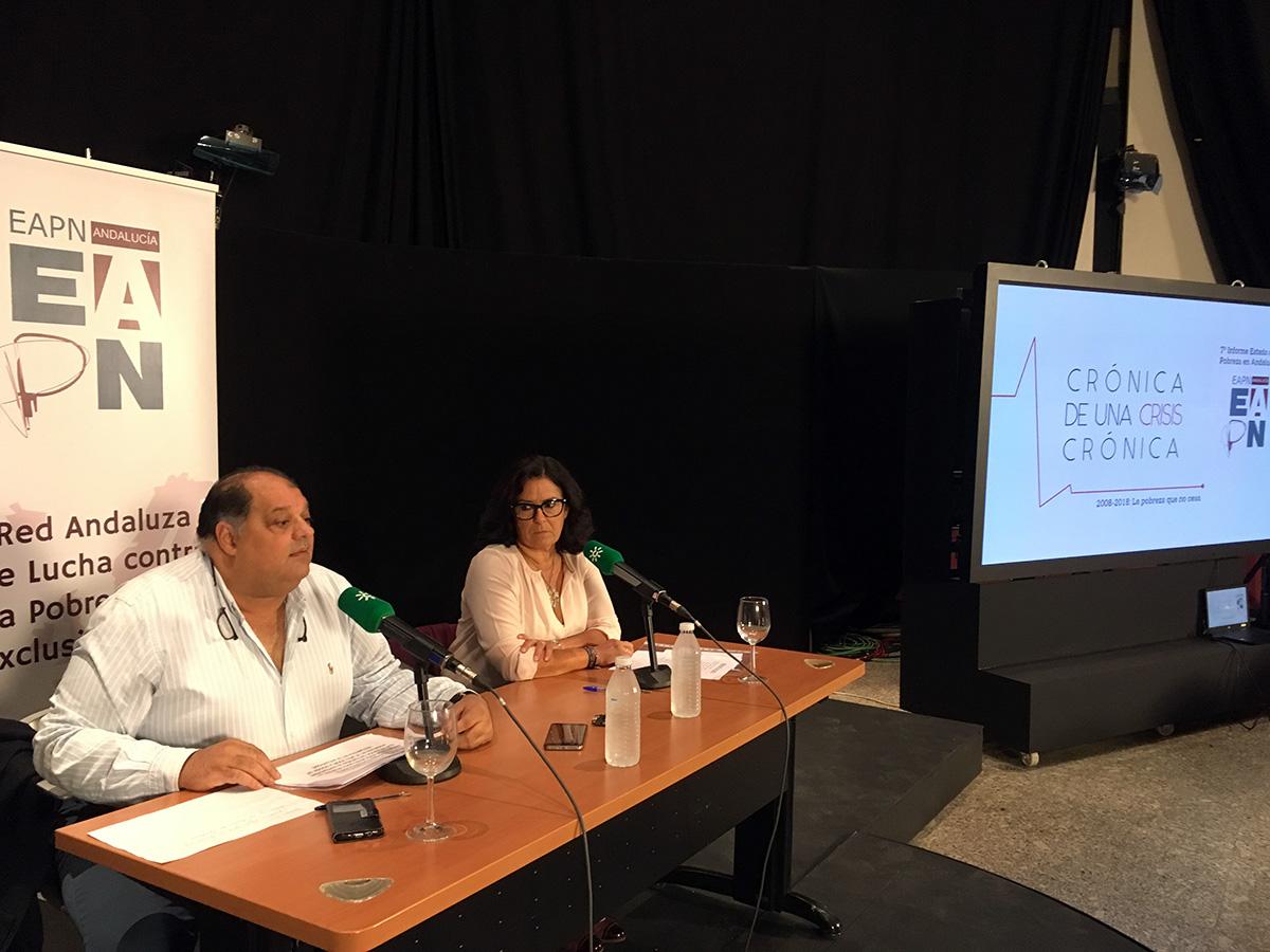 """""""Crónica de una crisis crónica"""": presentado el 7º Informe Estado de Pobreza de EAPN-A"""