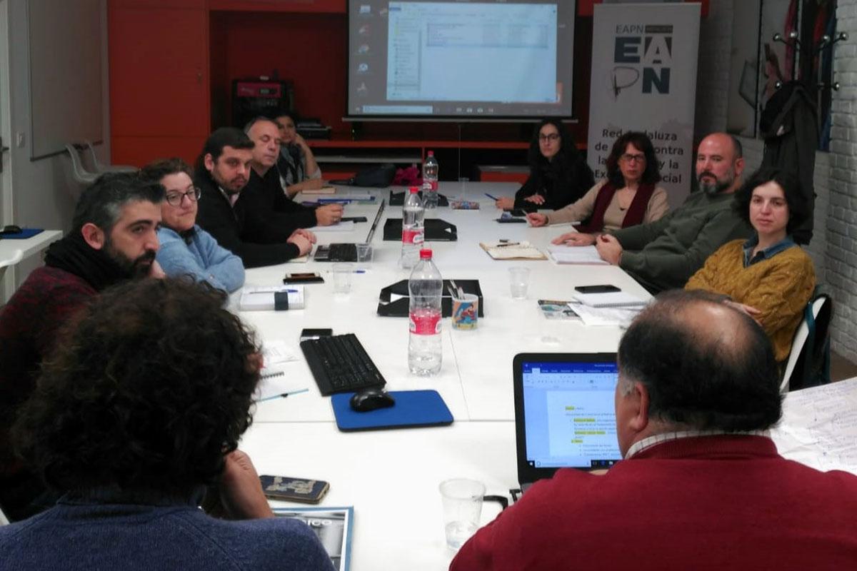 Reuniones con las Redes Provinciales de EAPN-A para planificar 2019