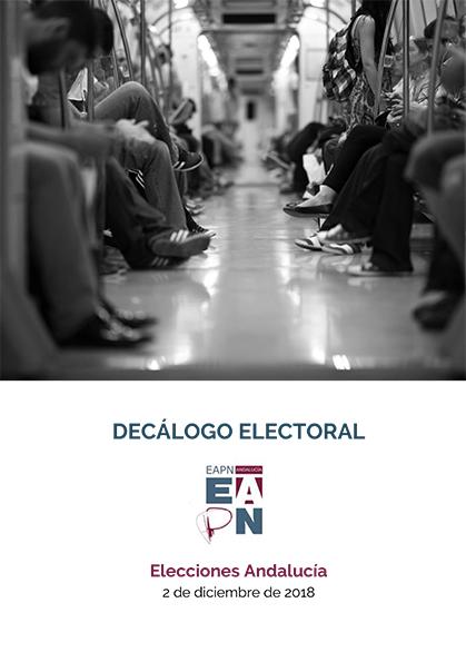 Decálogo EAPN-A  /  Elecciones Andalucía 2-D 2018