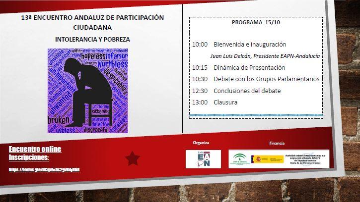 13º ENCUENTRO DE PARTICIPACIÓN CIUDADANA