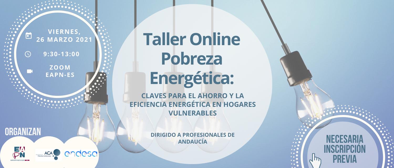 ¡Nueva edición del Taller de Pobreza Energética!